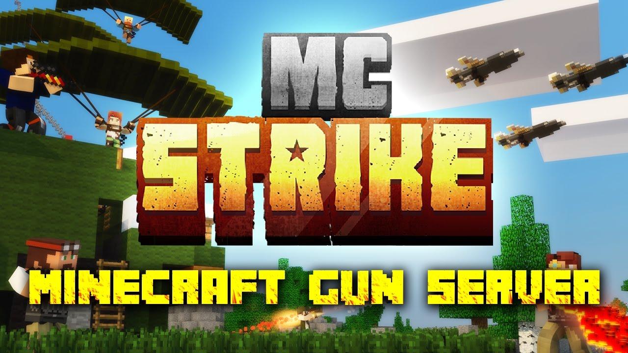 MCStrike Minecraft Gun Server Trailer YouTube