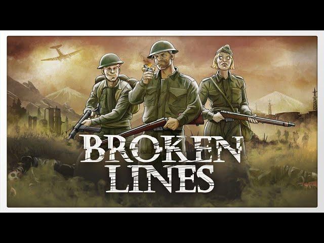 Primeira missão de Broken Lines - Gameplay 1080p