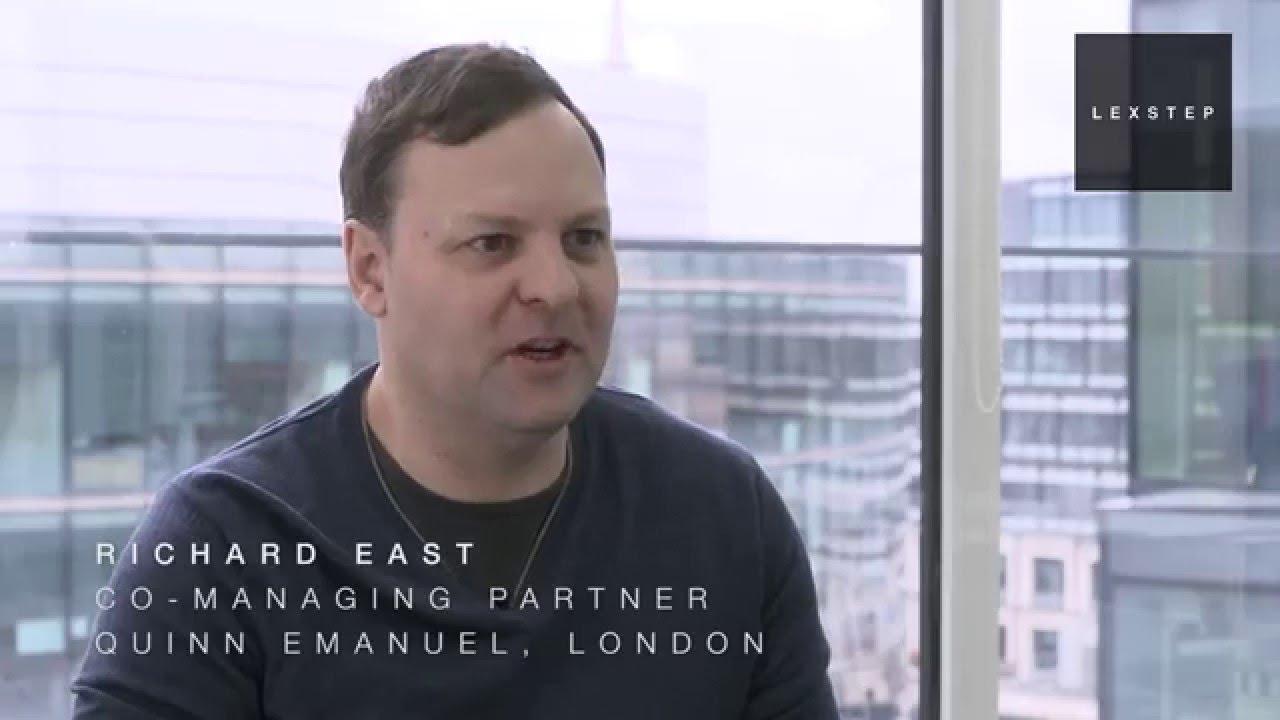 LEXSTEP.COM meets Richard East, Quinn Emanuel - 5 Feb 2016 ...