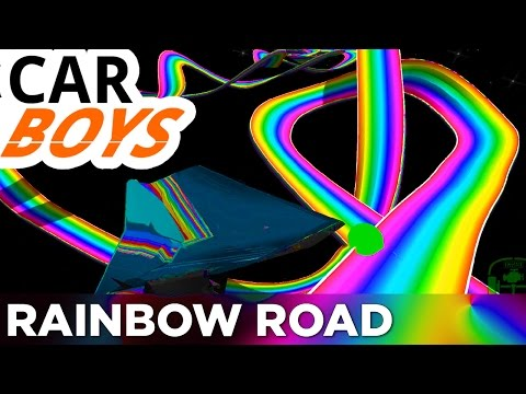 Nick and Griffin's Rainbow Road Vacation — CAR BOYS, Episode 9