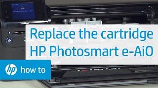 Replacing a Cartridge - HP Photosmart e-All-in-One Printer (D110a)(, 2011-02-03T18:12:33.000Z)