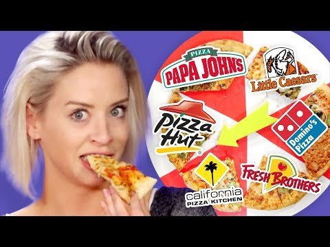 Best Delivery Pizza?! Taste Test Challenge (Cheat Day)