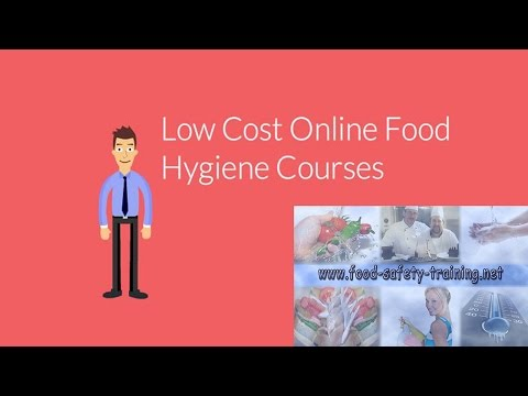 Level 2 Food Safety & Hygiene for Catering - Food Safety Training - Level 2 Food Safety & Hygiene