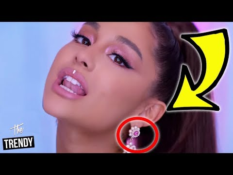 All The Easter Eggs Ariana Grande Hid In Her Music Videos