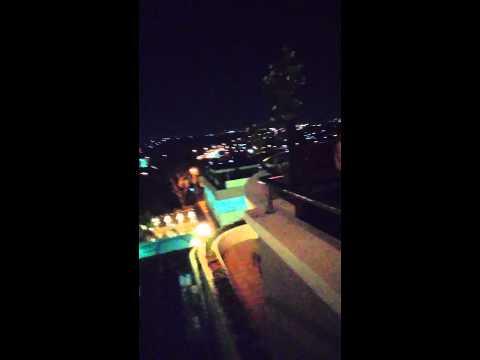 Crown vista batam night hill view