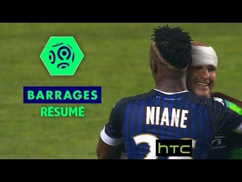 ESTAC Troyes - FC Lorient (2-1) / Résumé / Barrage aller Ligue 1 (saison 2016-17)