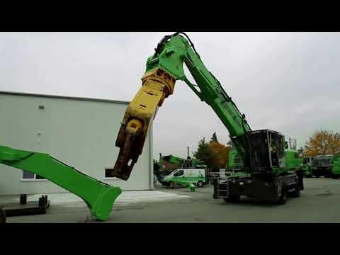 У-утилизация: Как перегружатель Sennebogen 830 М делает из машин брикеты