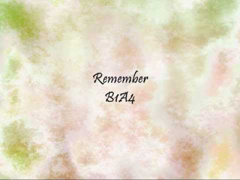 B1A4 - Remember [Han & Eng]
