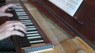 C.P.E. Bach:  Prestissimo from Sonata in C, Wq 55:1, on clavichord