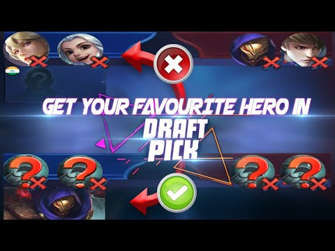 Picking And Banning Explain!!  The Ultimate Draft Guide | Mobile Legends Bang Bang thumbnail