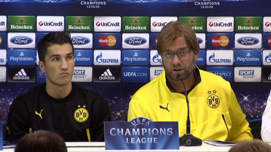 "Jürgen Klopp: ""Neapel ist stärker als im Vorjahr"" | SSC Neapel - Borussia Dortmund"