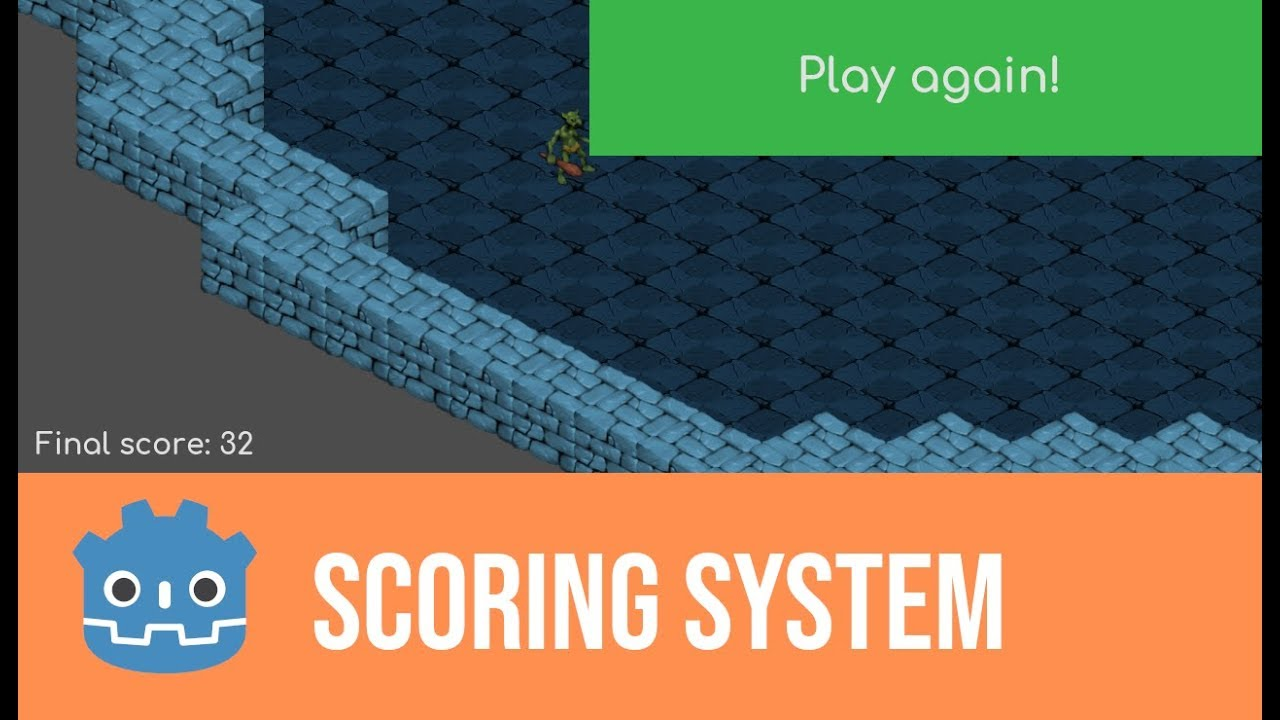 Godot Scoring System Making Cyberglads 7 Youtube