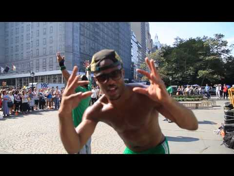 True black acrobat in New York change my life