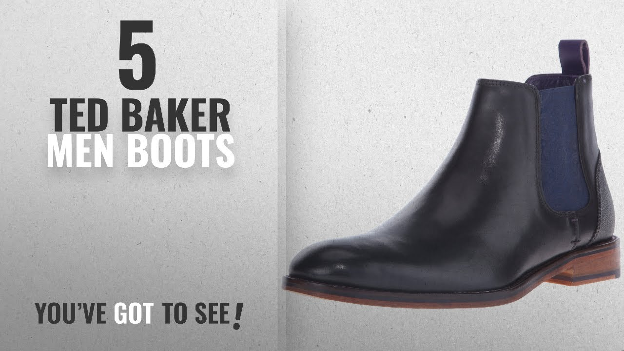 b6b9ddefff4e2 Top 10 Ted Baker Men Boots   Winter 2018    Ted Baker Men s 4 ...