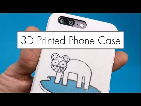 3D Printing a Phone Case