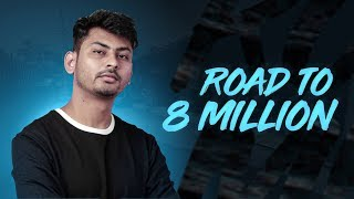 PUBG MOBILE LIVE WITH DYNAMO | ROAD TO 8 MILLION YOUTUBE FAMILY | SUBSCRIBE & JOIN ME