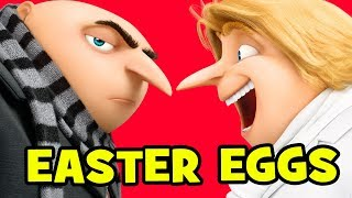Despicable Me 3 EASTER EGGS & Things You Missed