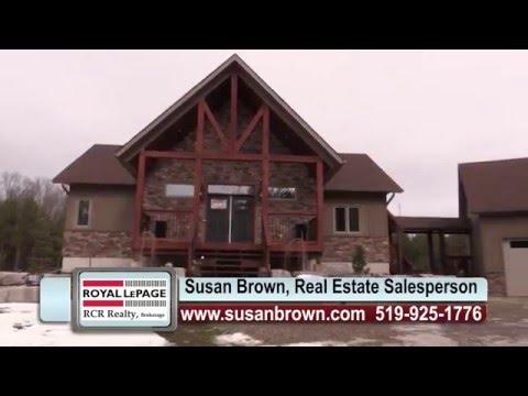 ** SOLD ** 667467 20th Sideroad Mulmur, Ontario, Susan Brown, Royal LePage
