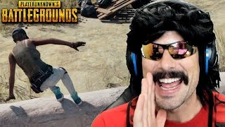 drdisrespect s first game on pubg after new update new items new sound effects etc