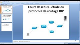 Cours Réseaux   étude du protocole de routage RIP