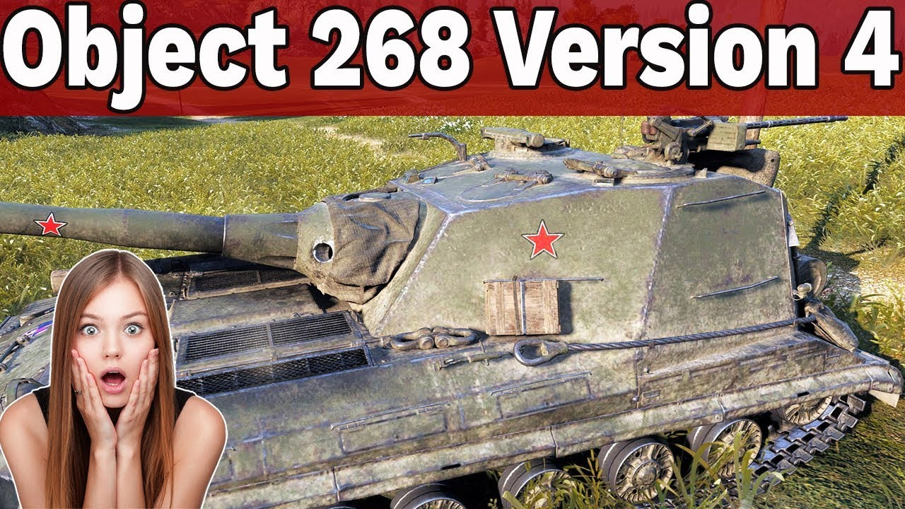 SIEJĄCY POSTRACH? – Object 268 Version 4 – World of Tanks