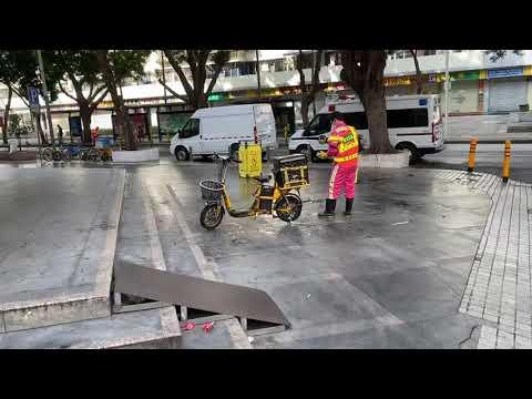 Вирус в Китае 2020 обработка улиц