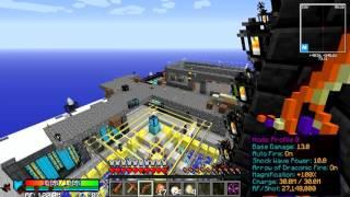Minecraft SkyTech выживание в соло - 11 Убийство Дракона Хаоса (Chaos Dragon) в Draconic Evolution