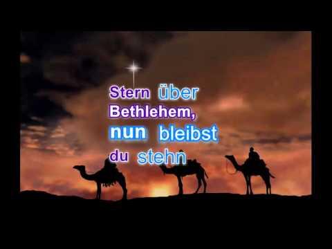 Stern über Bethlehem - Playback mit Lyrics