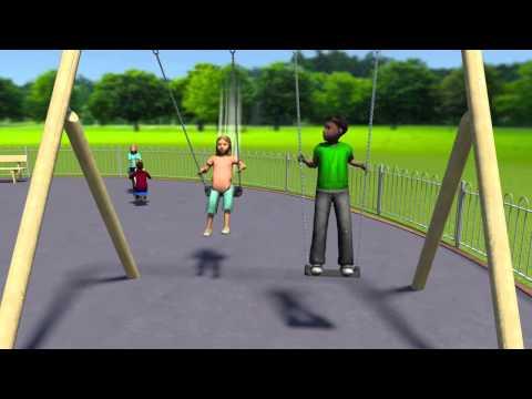 Timber Junior Swing - Playground Equipment