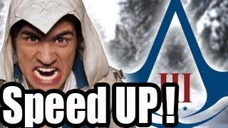 SMOSH -  ULTIMATE ASSASSIN'S CREED 3 SONG [Music Video] (SPEED UP!)