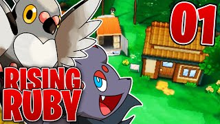 Pokemon Rising Ruby - EP 1 - Rising Ruby and Sinking Sapphire Playthrough