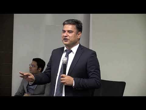 Depender Kumar, Partner at Grant Thornton speaking at #InterraITDX2018 Conclave