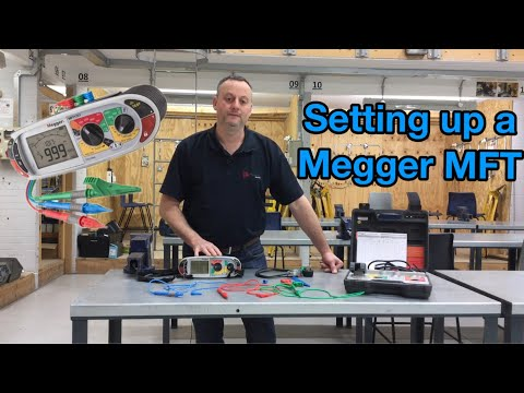 Setting Up A Megger MFT For Continuity And Insulation Resistance Tests (How To Set Up A Tester)