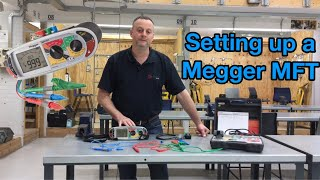 Setting Up A Megger MFT for Continuity and Insulation Resistance Tests (Setting up a Tester)