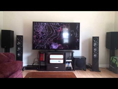 Monitor Audio GX200 powered by Peachtree Audio