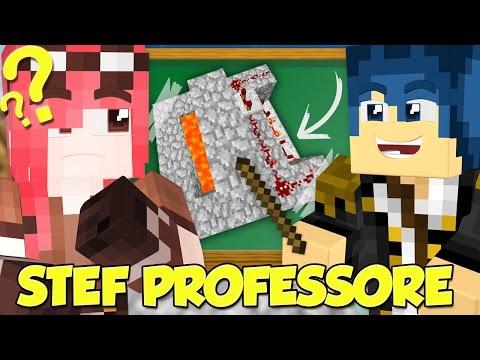 Minecraft ITA - Stef il professore su Minecraft!
