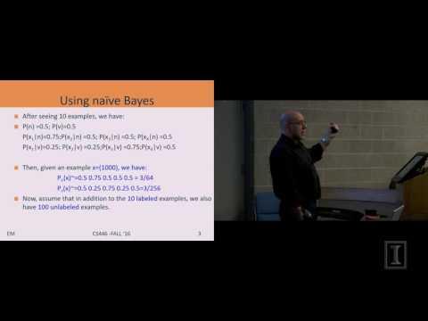 Lecture #21 - EM Algorithm