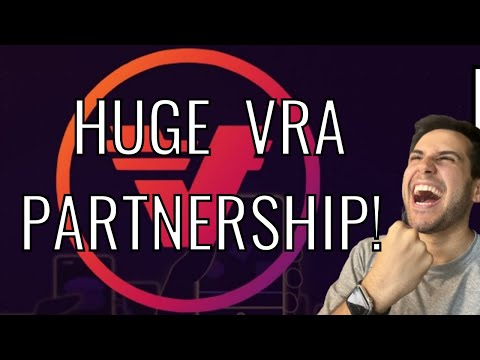 HUGE VRA PARTNERSHIPS AND REASONS WHY YOU SHOULD BUY SOME VRA! (10-100x alt coin?) 🔥