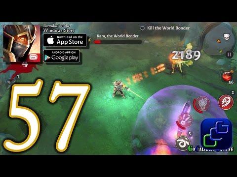 Dungeon Hunter 5 Android IOS Walkthrough - Part 57 - Solo Bounty 49-51 (HARD)