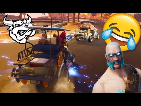 EXTREME FORTNITE RACING VS NOAHSNOAH & CHIP