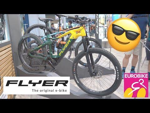 New FLYER Bikes 2020 (Uproc) - Eurobike 2019 [4K]