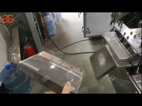 Automatic Cellophane Overwrapping Machine for Small Boxes
