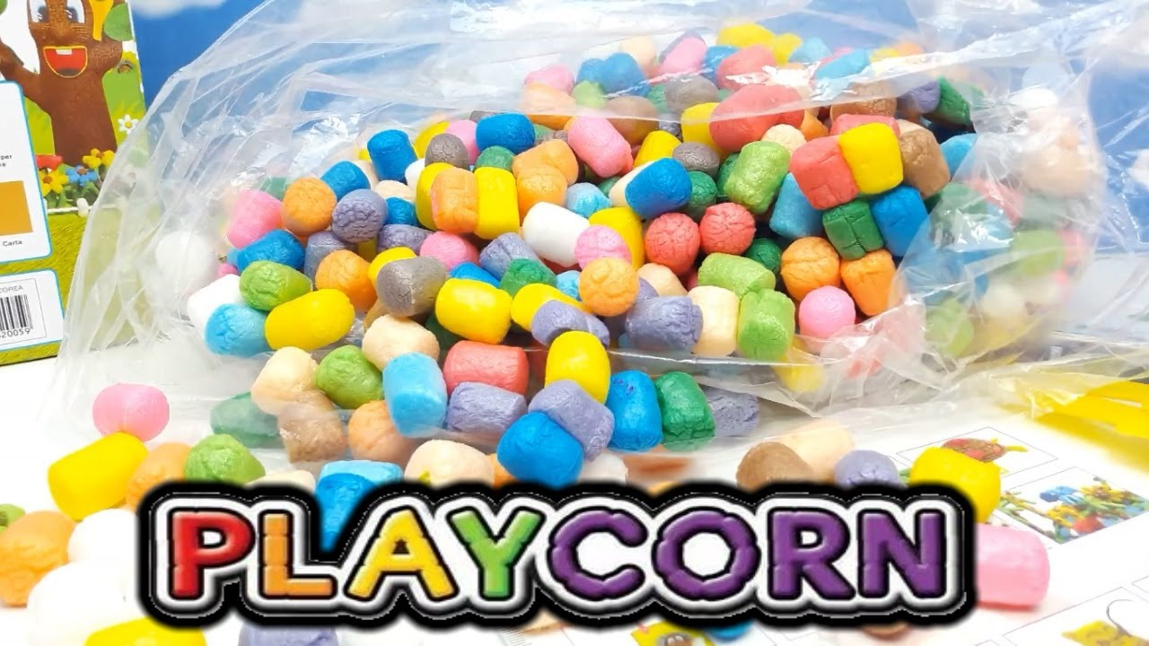 Playcorn colorati mattoncini di mais giochi creativi costruzioni che si uniscono con l 39 acqua - Giochi che si baciano a letto ...