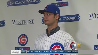 Cubs Officially Sign Yu Darvish