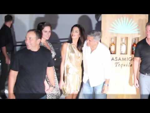 George y Amal Clooney, embarazados de gemelos