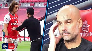MANAGER CAM | Exclusive Reactions From Guardiola & Arteta During Arsenal vs Manchester City