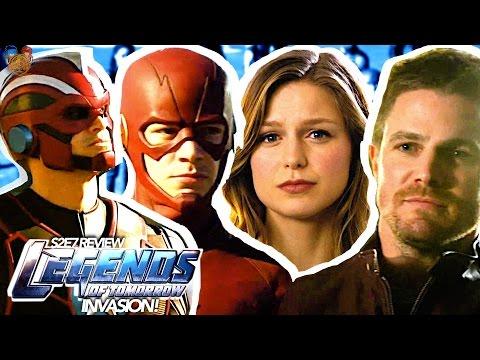 Justice League TV Show? Supergirl Returns w/ Pocket Breach • Legends of Tomorrow S2E7