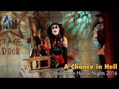A Chance in Hell Scare Zone for Halloween Horror Nights 2016 at Universal Orlando