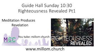 Righteousness revelation