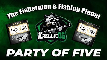 🎣 Party of Five Event Guide with 3 Unique's & 1st place! The Fisherman / Fishing Planet 🎣